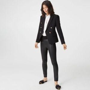 Club Monaco Tasha leather leggings pant 8/M